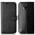 Luxury Retro Filp Wallet With Card Holder Stand PU Leather Case For HTC ONE M8 Phone