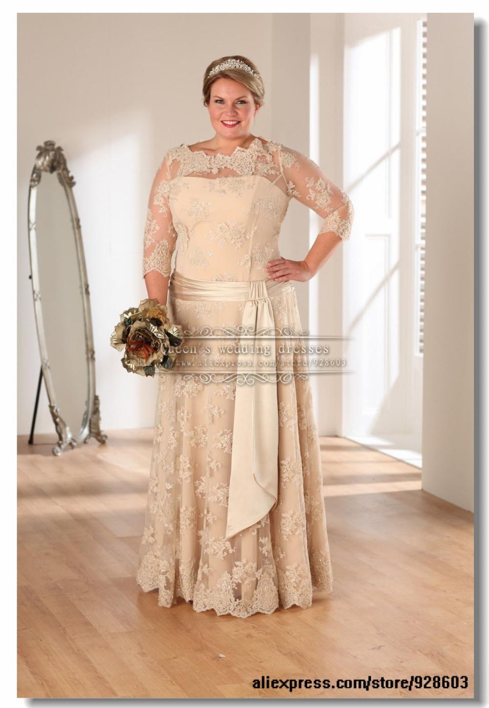 Plus size wedding dresses champagne color plus size prom for Plus size champagne wedding dresses