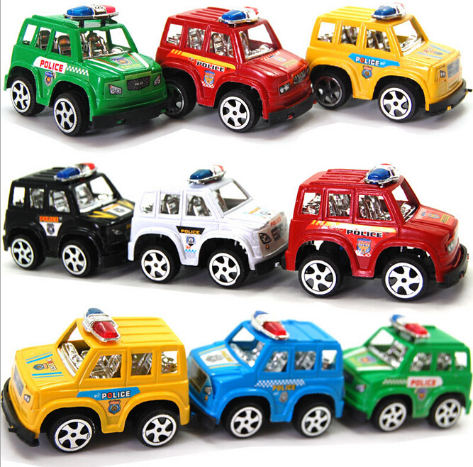 6pcs HOT Cute mini Toy Cars Best Christmas birthday Gift for Child Plastic Mini Car model kids toys for boys and girls(China (Mainland))