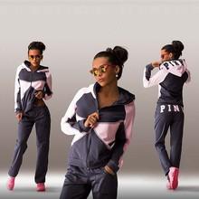 Fashion New Women Hoodies Tracksuit Sportswear Hoody Set Pants Joggings Sweatsuit Sports Suit Jogging Suits For Women(China (Mainland))