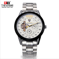 TEVISE 2017 Watches Brands Men s Watch Automatic Mechanical Tourbillon Hollow Fashion Transparent Waterproof Relogio Masculino