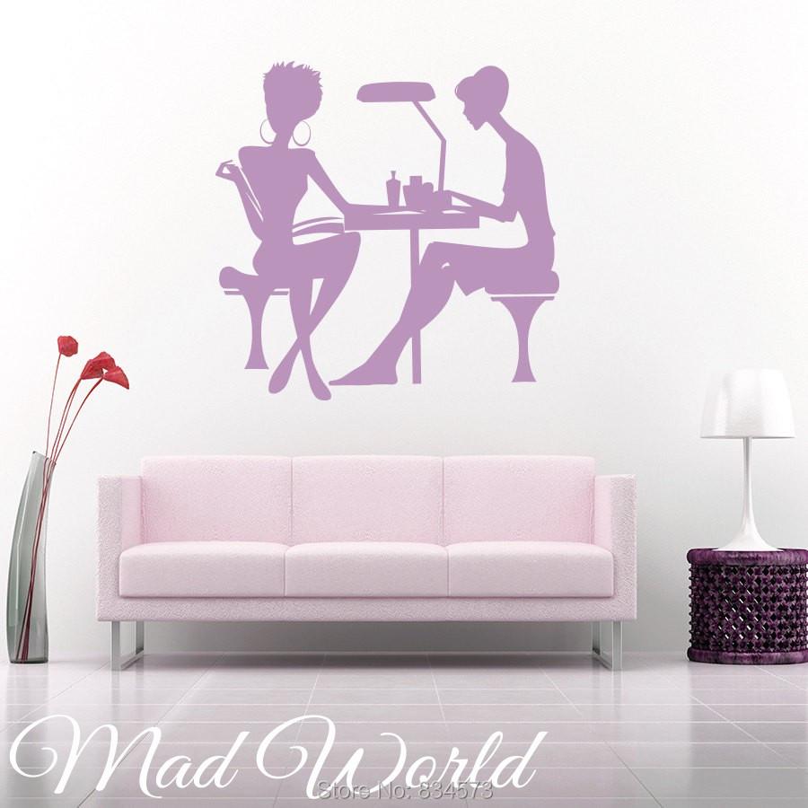 Popular salon wall art buy cheap salon wall art lots from - Stickers deco salon ...