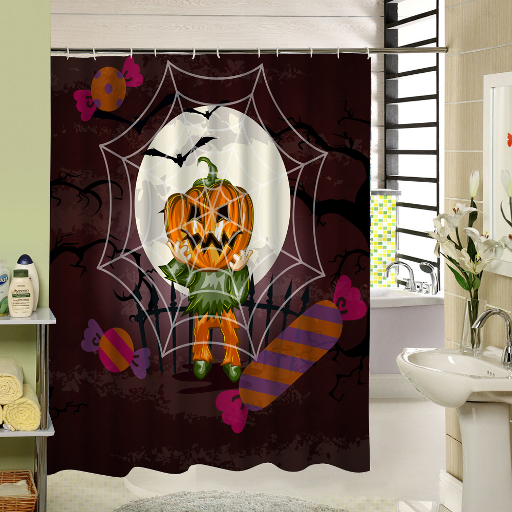 Popular Halloween Shower Curtain Buy Cheap Halloween