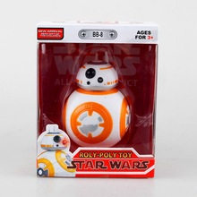 HOT!! 2016 1pcs Star Wars The Force Awakens BB8 BB-8 Droid Robot Action Figure 5″