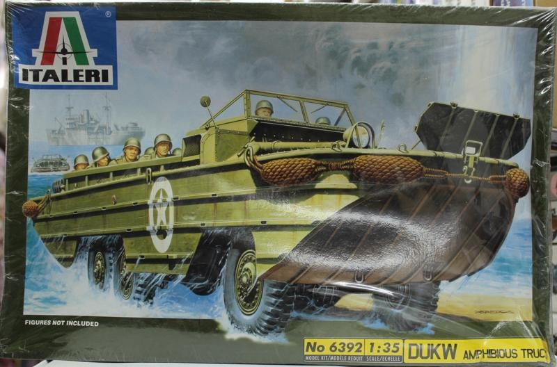 Out of print! Italeri DUKW Amphibious Truck Model Kit #6392 1:35(China (Mainland))