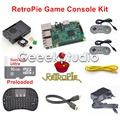 16GB RetroPie Game Console Kit with Raspberry Pi 3 Model B SNES Controllers with 5V 2