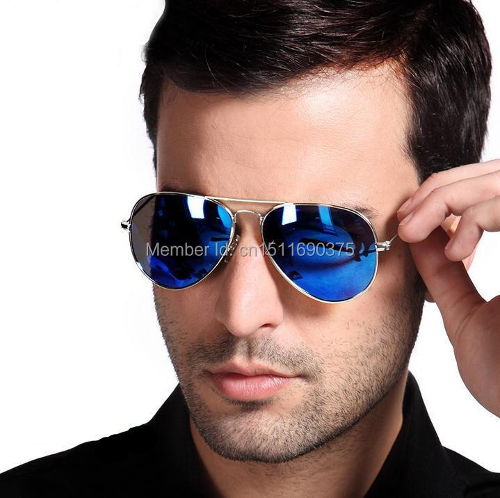 lentes azules ray ban hombre