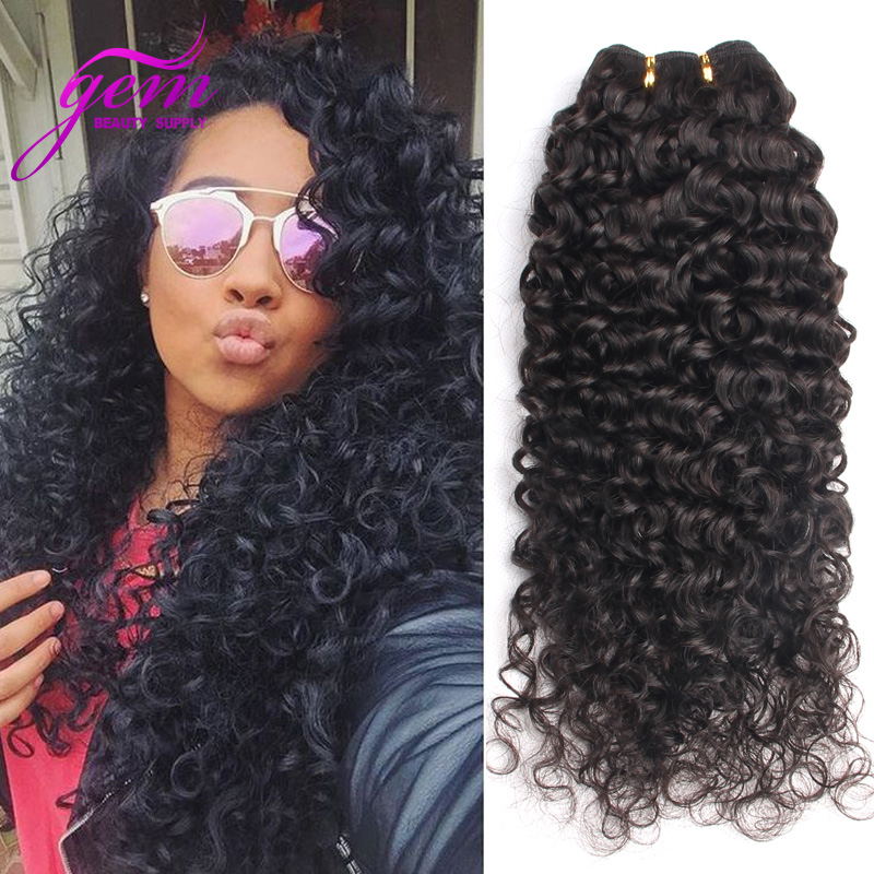100 Indian Remy Straight To Curly Hair Human Hair Extensions