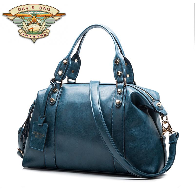 2015 Women Lady High-grade PU Leather Fashion New Style Boston Handbag Tote/Shoulder/Purse BAG YF283