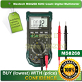Mastech MS8268 Digital AC DC Auto Manual Range Digital Multimeter with hFE Data Hold Relative Measurement