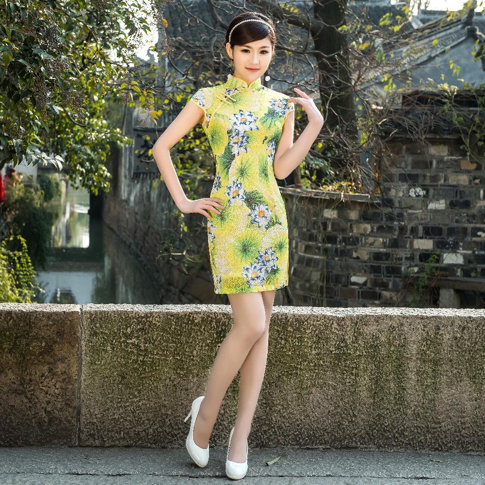 Modern Chinese New Year Dress