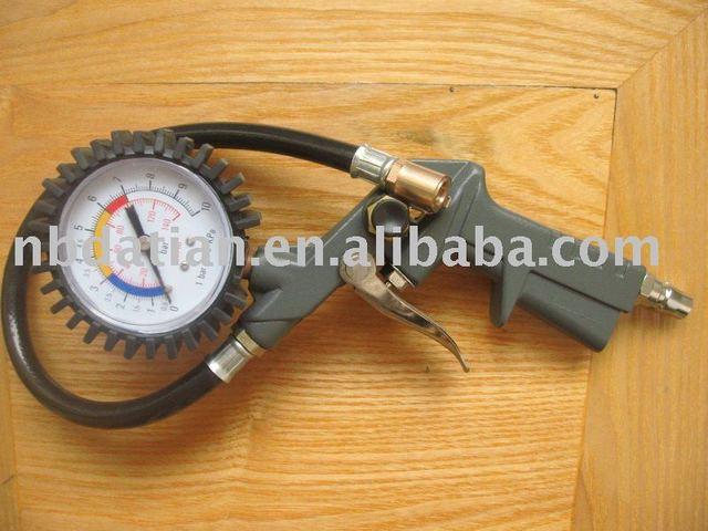buy dg 11 auto car motorcycle bicycle tire pressure gauge air inflator gun from. Black Bedroom Furniture Sets. Home Design Ideas