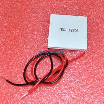 2pcs/lot TEC1-12705 Thermoelectric Cooler Peltier 12705 12V 5A Cells, TEC12705 Peltier Elemente Module