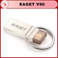 100% Original EAGET V90 USB 3.0 16GB 32GB 64GB Smart Phone Tablet PC USB Flash Drives OTG micro pen drive memory stick
