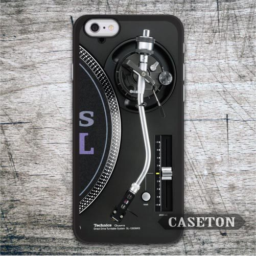 DJ Technics Turntables Classic Retro Case For iPhone 6 6 Plus 5 5s 5c and For