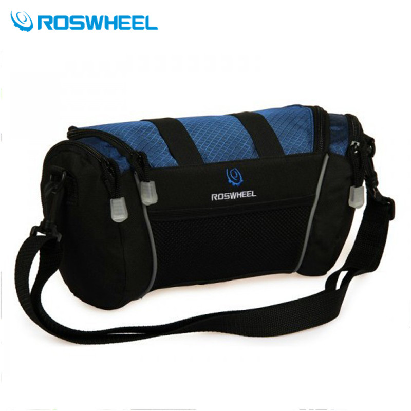 Free shipping ! Roswheel Bike Cycling Bicycle Handlebar Bag Front Pannier Single Shoulder Bag(China (Mainland))