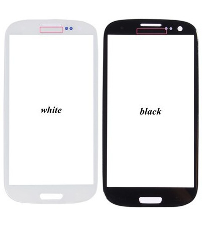 Front Screen Lens Outer Glass For Samsung Galaxy S3 i9300 Replacement Repair Part Black/White/Blue 20pcs/lot Free Shipping(China (Mainland))