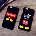 Luminous Supreme Case for iPhone 7 7Plus 5s 6 6s Plus Coque Fundas Luxury Matte Phone