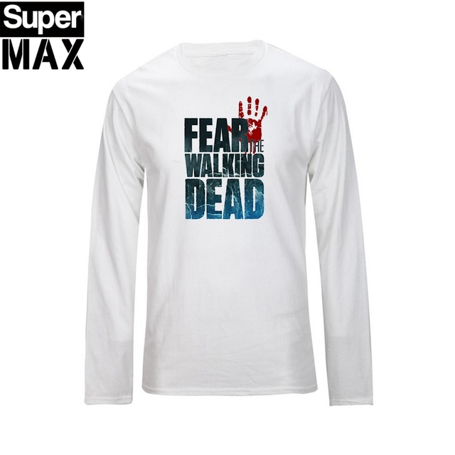 The walking dead T Shirt – Long Sleeve O-Neck Cotton Tees