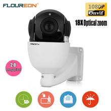 FLOUREON 1080P IP Outdoor Camera H.264 18X ZOOM Waterproof CCTV PTZ Speed Dome Camera IR-CUT Onvif P2P Mobile Security Camera(China (Mainland))