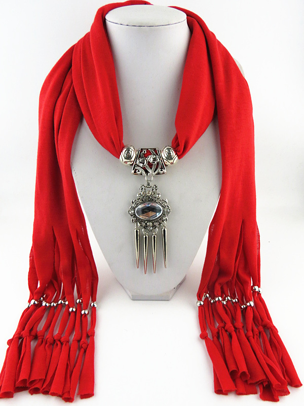 Top Fashion Tassel scarf Christmas Gift Pendant Scarf Free Fast Shipping - Jewelry Shop store
