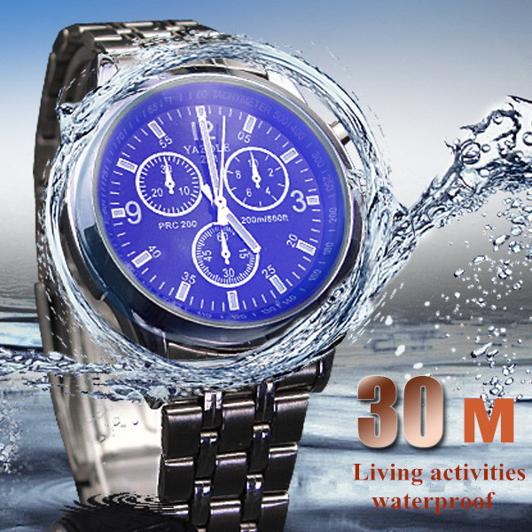 Luxury YAZOLE Mens Business Watches Elegant Stainless Steel Quartz Watch 30m Waterproof Wristwatch Luminous Relogio Masculino<br><br>Aliexpress