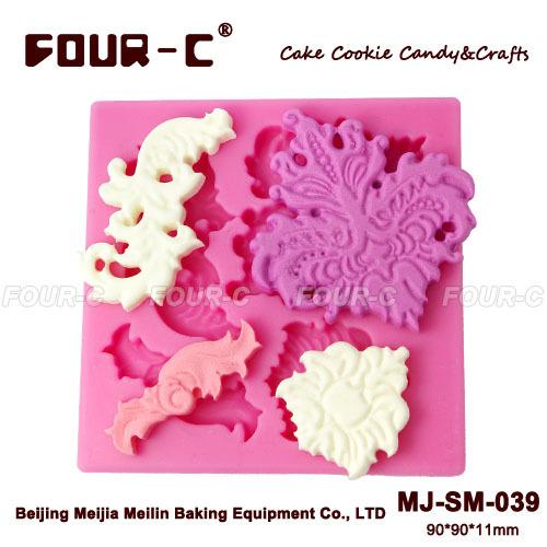 Cake Decorating How To Make A Leaf : Cake decorating leaf mold,shaped silicone fondant molds ...