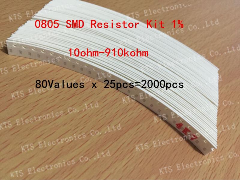 Резистор 0805 resistor kit