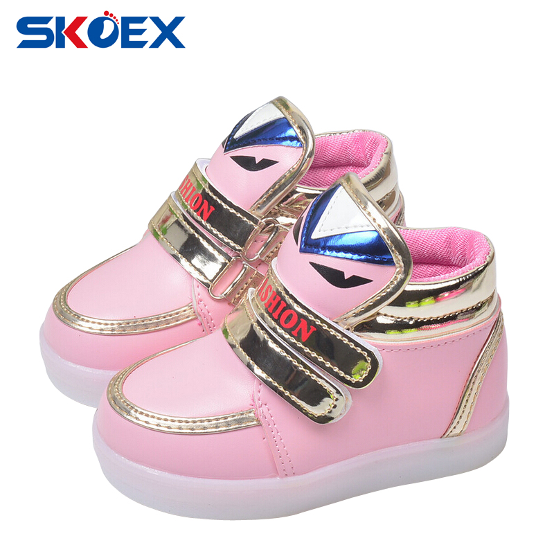 Children Baby Shoes Led Luminous Boys Girls Casual Shoes