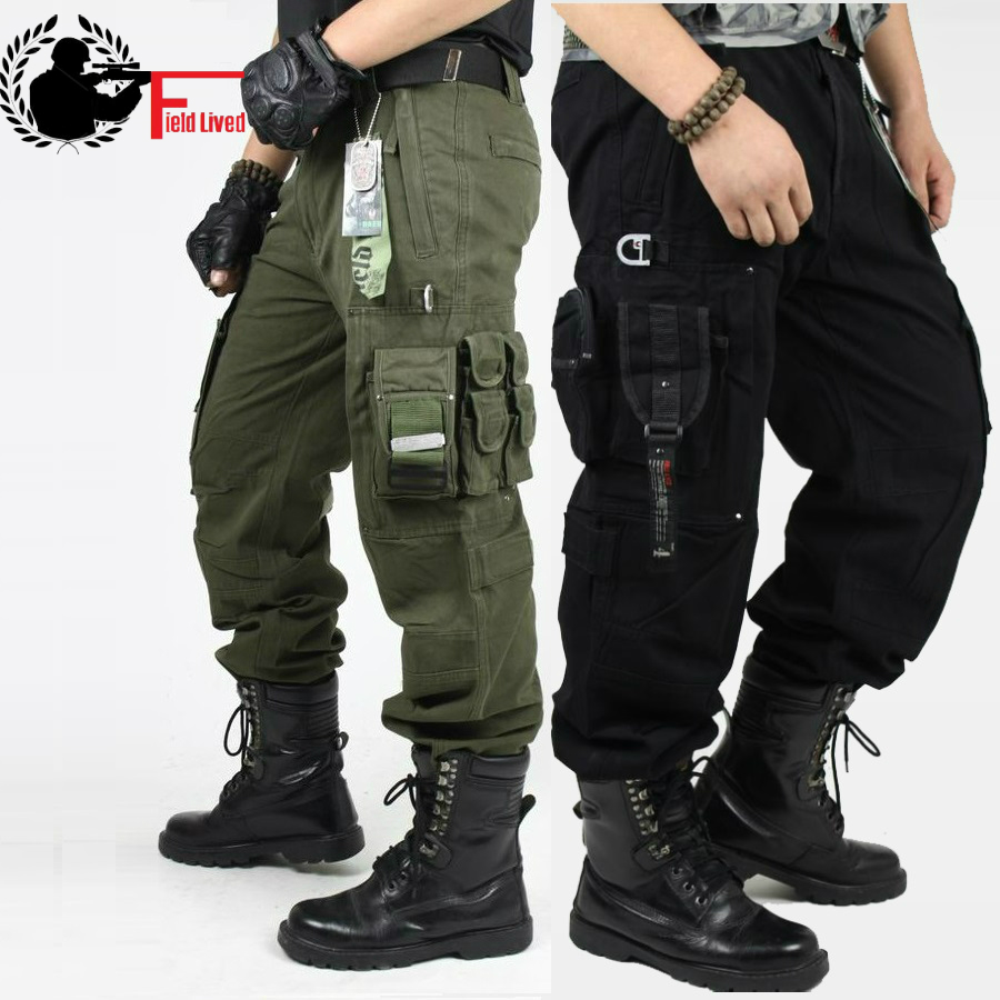 cargo pants overalls mens millitary clothing tactical