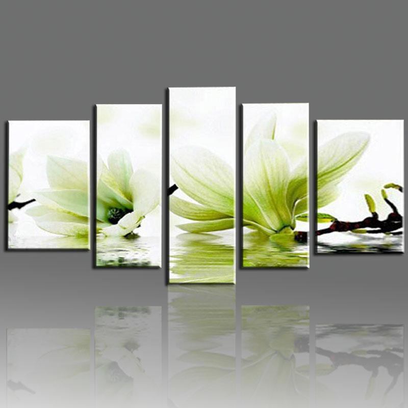 Compra magnolia pintura online al por mayor de china - Pinturas de pared modernas ...