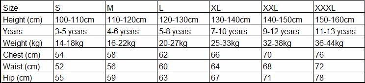 latin size