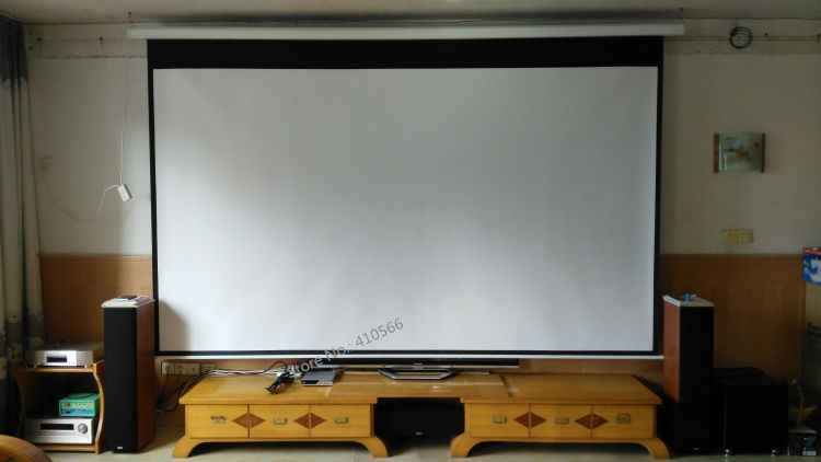 150 inch motorized screen pic 21