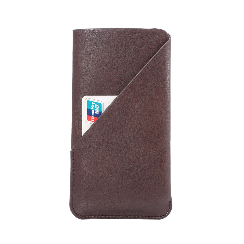 New Fashion Credit Card Holder Bag Leather Phone Case for Zte Blade X9 Cases Cover Cell Phone Accessories 4 Colors