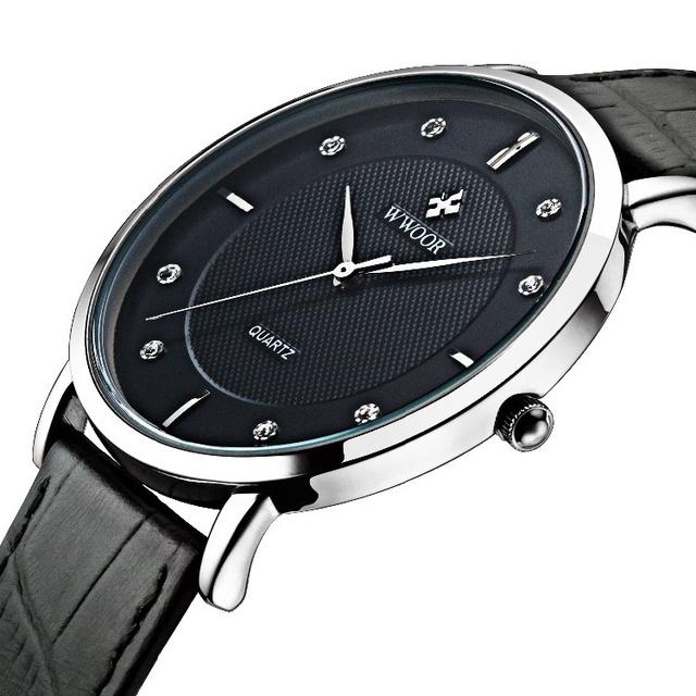 Zegarek męski skórzana opaska ciekawy design różne kolory