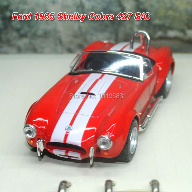 Brand New Classic 1/32 Scale Vintage Ford 1965 Shelby Cobra 427 S/C Cool Diecast Metal Pull Back Car Model Toy For Gift/Kids(China (Mainland))