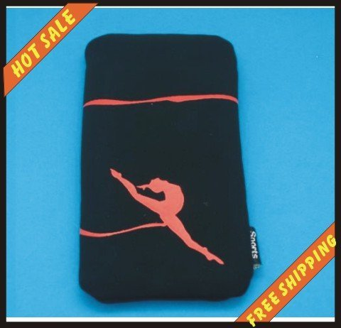 Free shipping 2010 Fashion Nylon Waterproof MP4 cases/ Mobile Phone Bags pouches