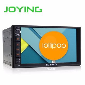 "Joying 7"" Double 2 Din Android 5.1 Lollipop Universal Car Radio Quad Core 1024*600 HD Car GPS Navigation Best Head Unit Car PC"