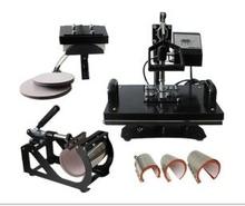 8 in 1 combo heat press machine for t shirts/mugs/caps/trays,combo heat press machine