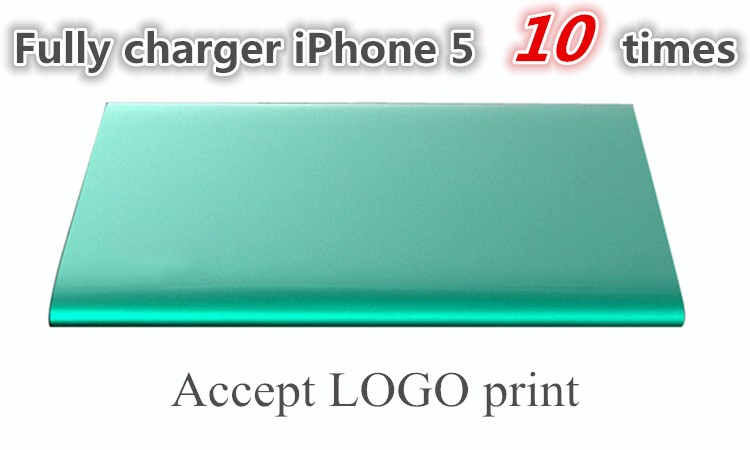 2015 New Fashion Polymer Ultrathin Power bank 100% Real Capacity 10000mah Powerbank Dual USB External Battery For iPhone XiaoMi