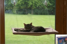 1 pc Suction Cups Conservatory Sunshine Window Bed For Cats Dogs Pet Wall Bed(China (Mainland))