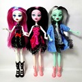 Cheapest NO BOX 3 pcs set Dolls 2017 New Style Moveable Joint Body Fashion doll High