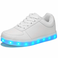 new 2016 USB Charging kids basket glowing luminous children shoes with led light up casual shoes