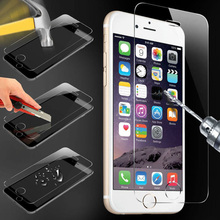 "10pcs 6s plus glass films 0.26mm 9H 2.5D explosion proof tempered glass for iphone 6s plus 6 plus 5.5"" screen protector"