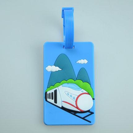 Train Luggage Tag Airplane Image Luggage Tag
