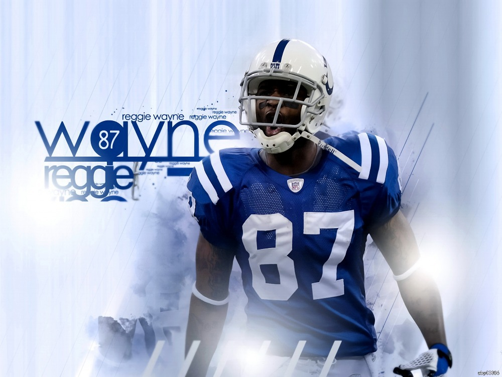Reggie Wayne Indianapolis Colts NFL Football Sport Art Huge Print Poster TXHOME D5532(China (Mainland))