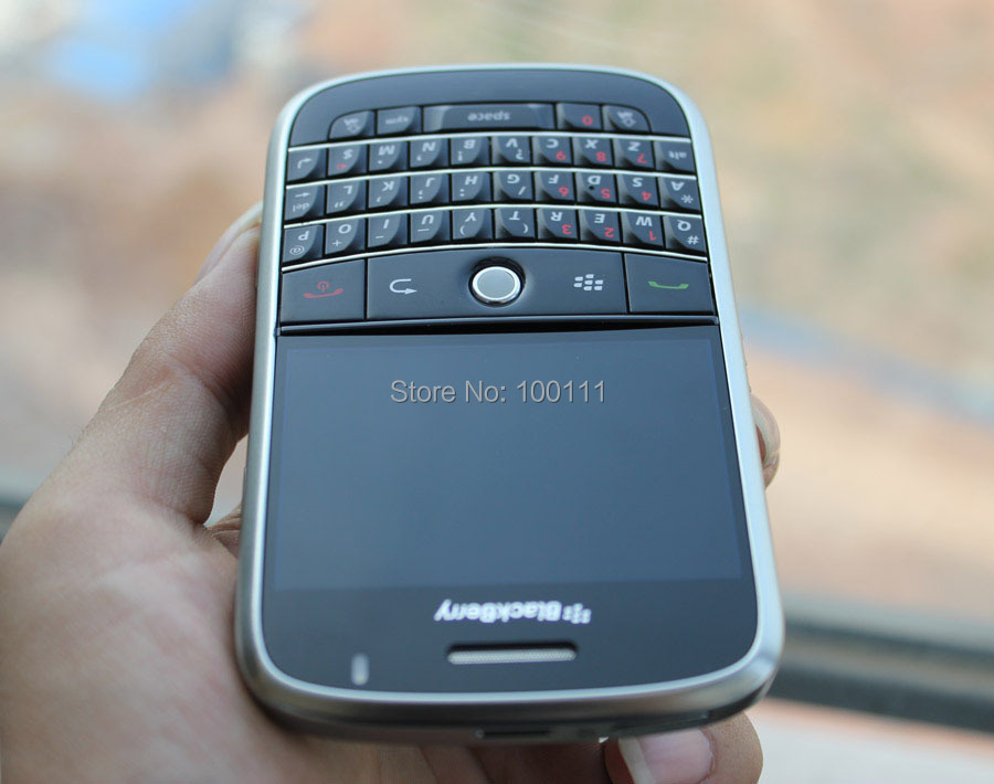 In stocked/ Refurbished Original BlackBerry Bold 9000 Mobile Phone with Unlocked QWERTY Keyboard Black 2G 3G / Free shipping(Hong Kong)