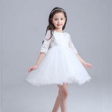2016 Summer Princess Kids Wedding font b Dress b font font b Girl b font White