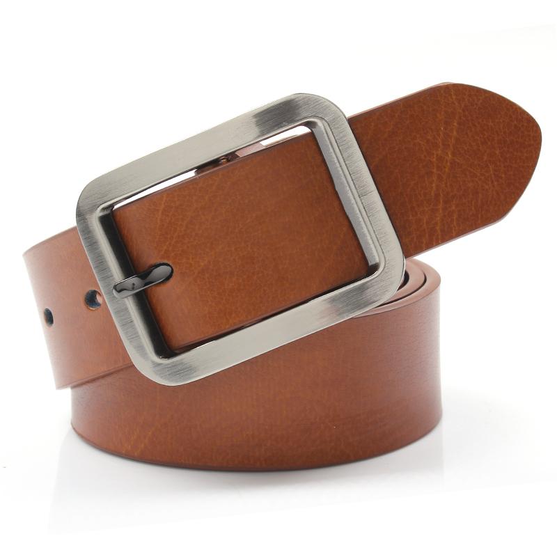 Fashion cowhide strap Women all match women s genuine leather belt wide belt strap decoration male
