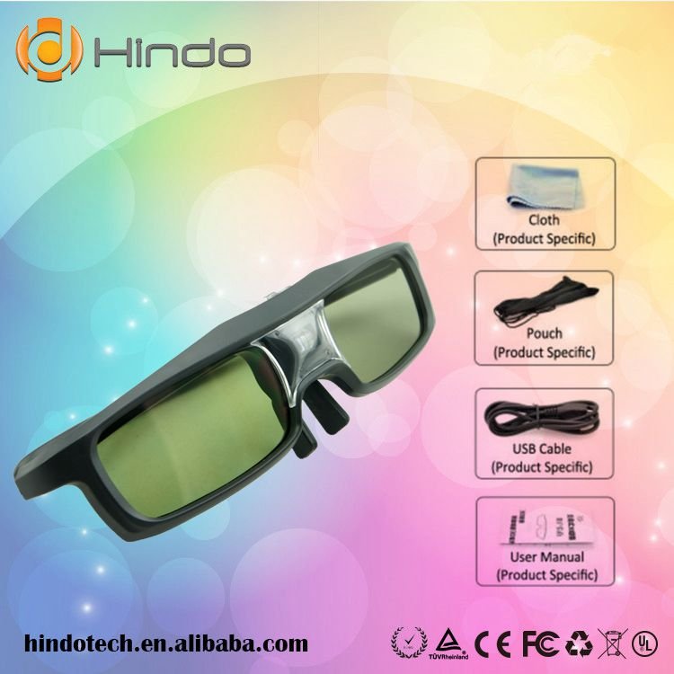 Bluetooth 3D Active Glasses for all Samsung 2011,2012,2013 D,E ,F,H series 3D TV /for Panasonic/for Epson projector(China (Mainland))